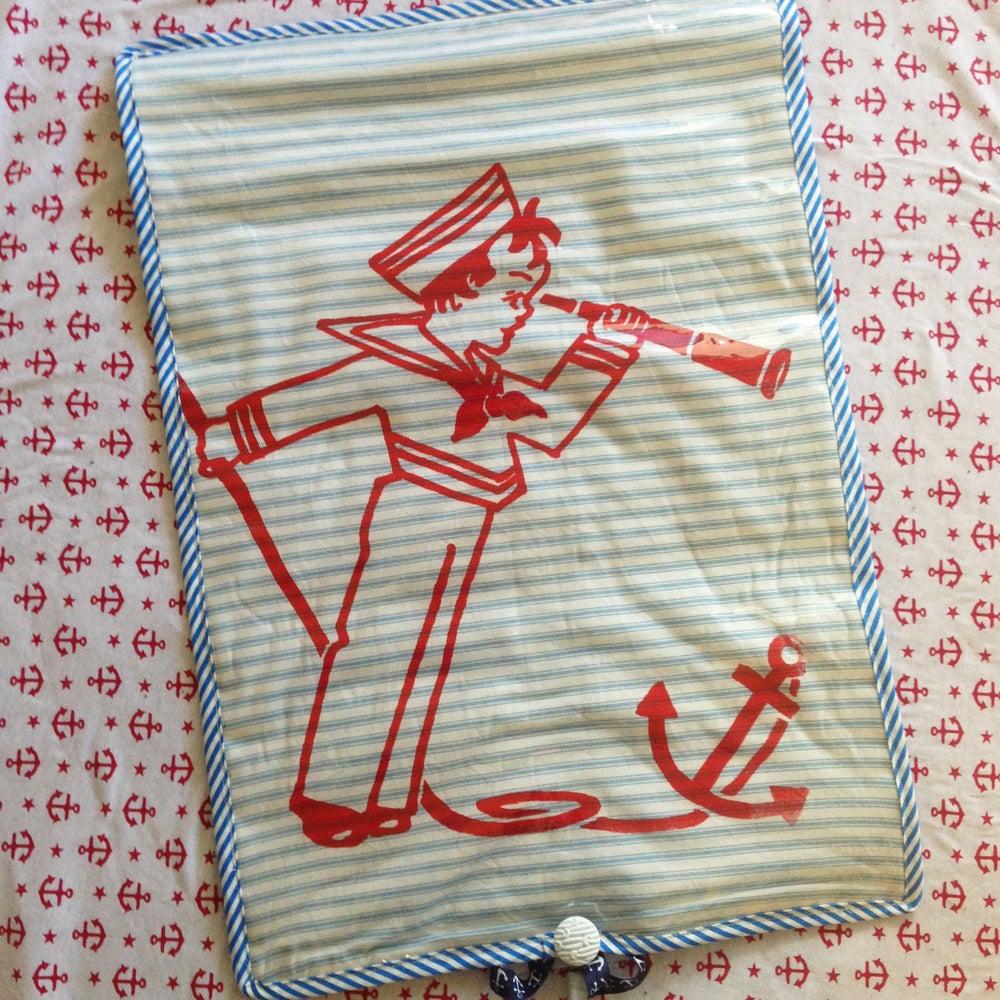 Image of Seaworthy sailor changemat