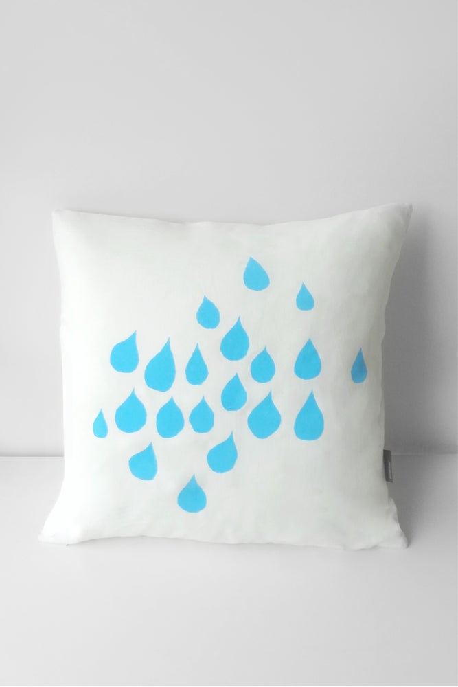Image of Rain - Tea Towel