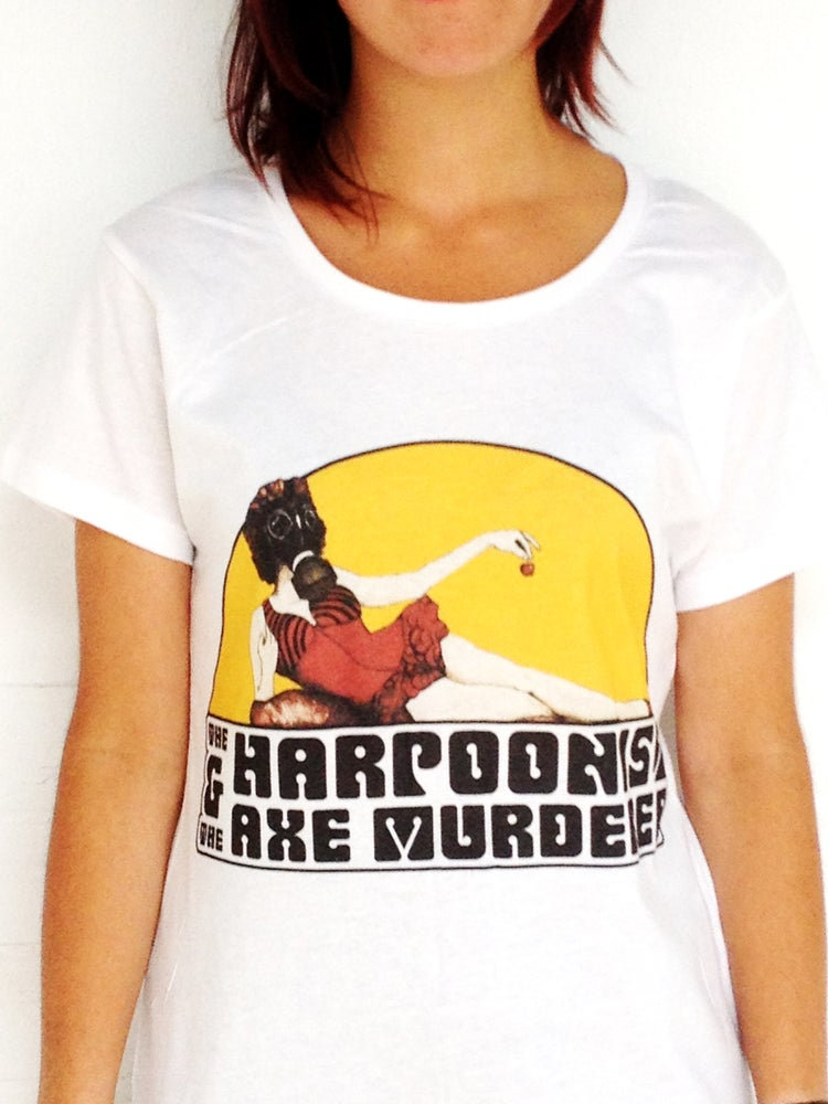 """Image of The Harpoonist & The Axe Murderer """"A Real Fine Mess"""" T-shirt"""