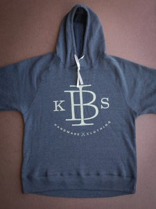 Image of Classic Hoodie - Charcoal Marle