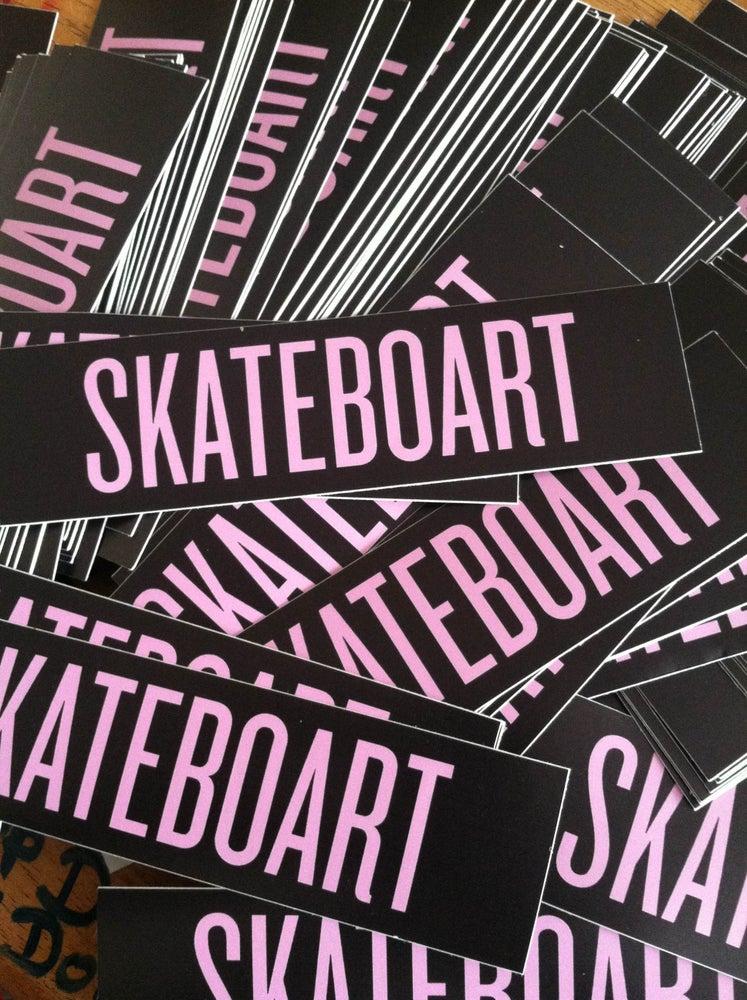 Image of SKATEBOART Sticker