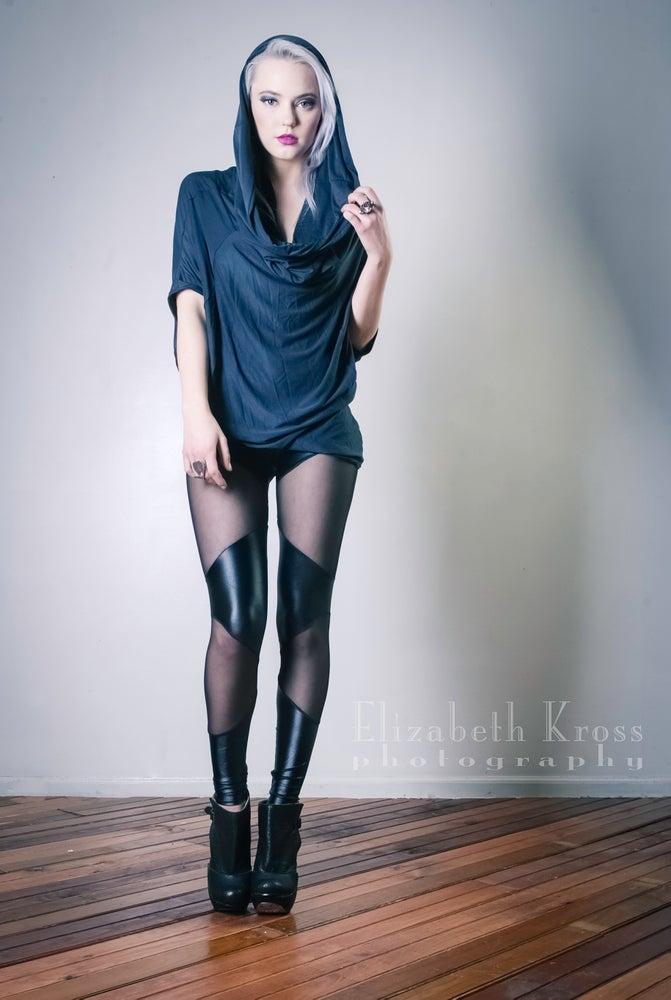 Image of Double panel mesh leggings