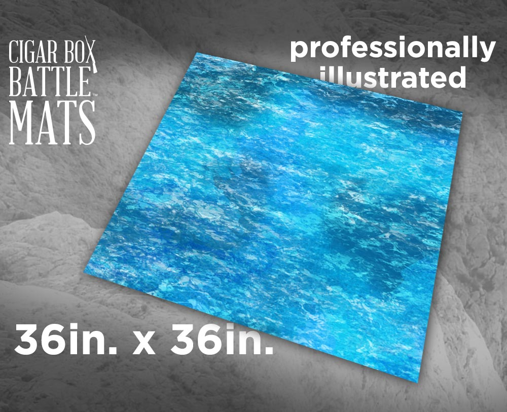 Ocean Gaming Battle Mat 3x3 117 Cigar Box Battle Store