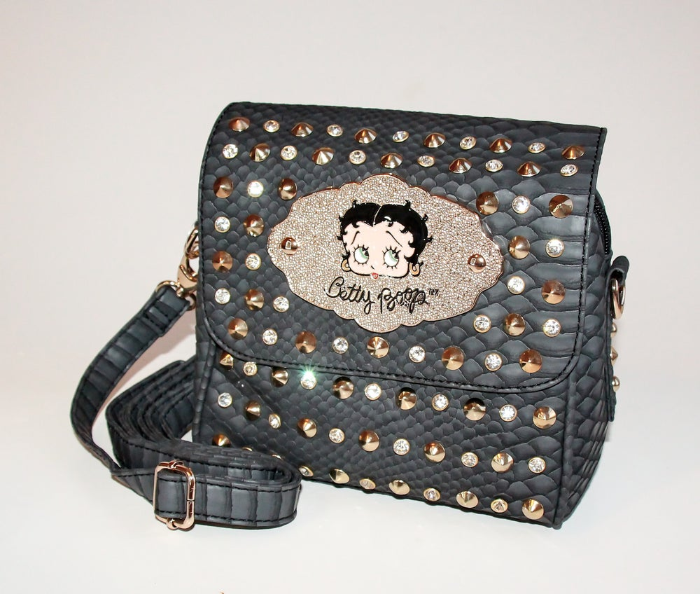 Image of Black Betty Boop Purse
