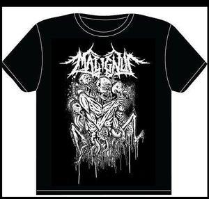 Image of MALIGNUS BLACK SHIRT PRINT