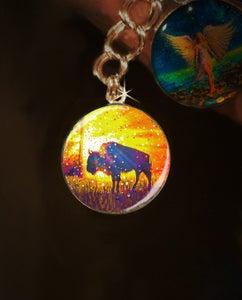 "Image of Sacred Buffalo ""Easy Abundance"" Energy Charm"
