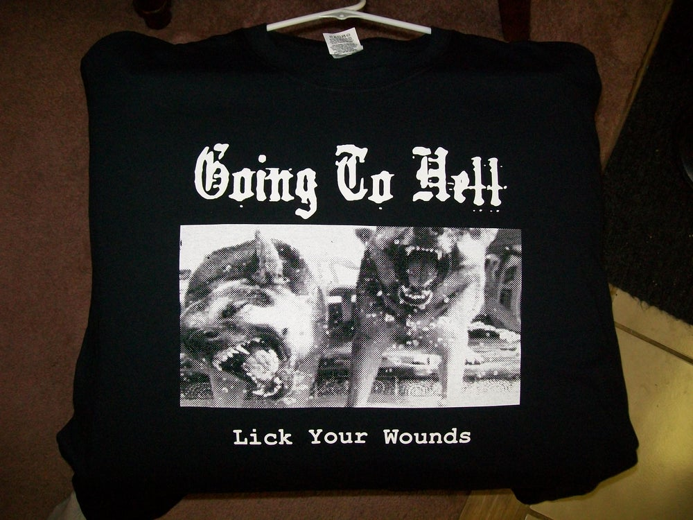Image of T shirt-Lick Your Wounds