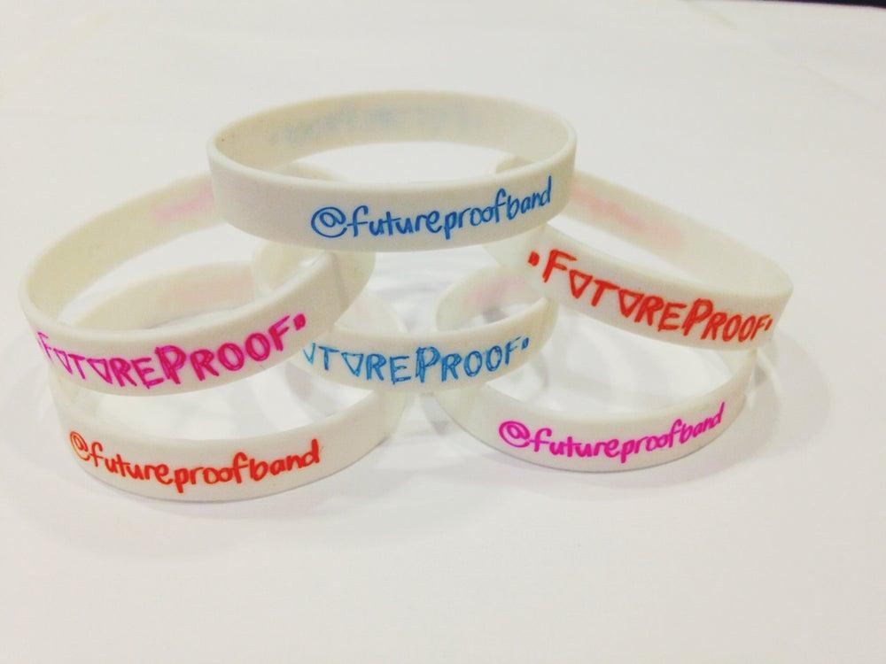 Image of FutureProof Twitter Wristbands - Slim FIRE SALE £1