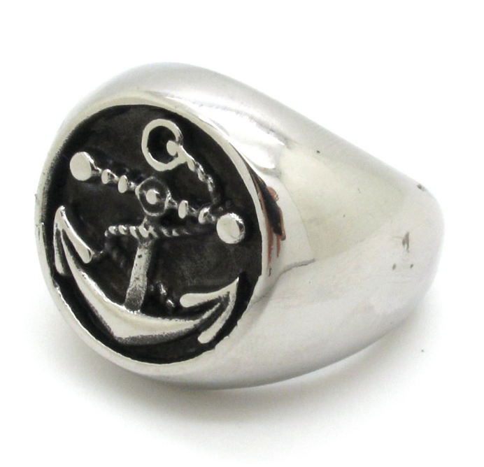 Image of Men's Anchor Ring