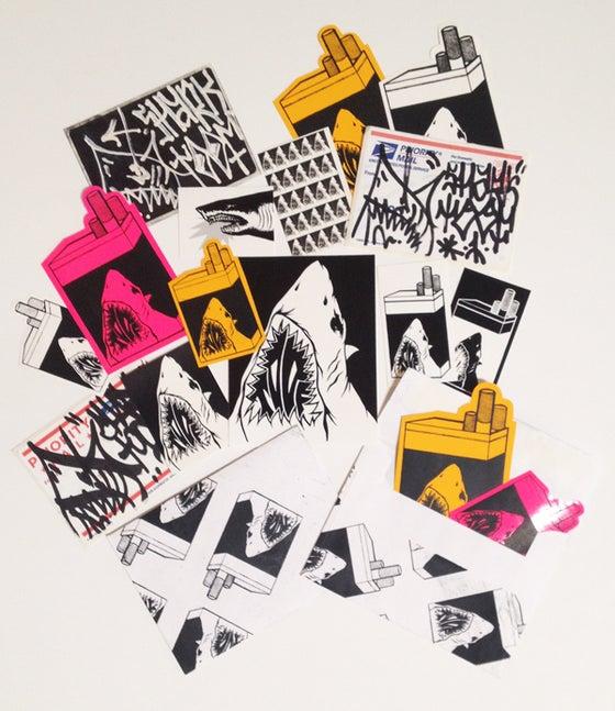 Image of Shark Toof Sticker Pack