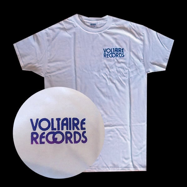 Image of Voltaire Records T Shirt Logo # 2