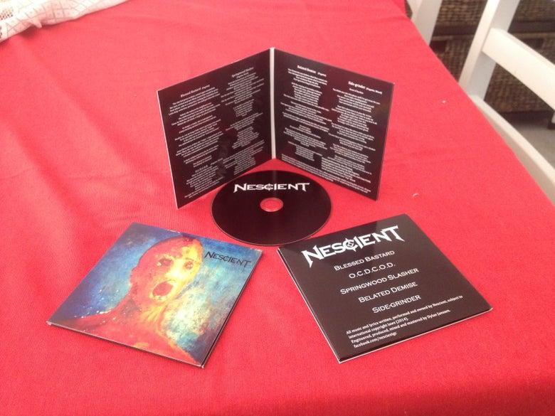 Image of Nescient EP - Gatefold Wallet