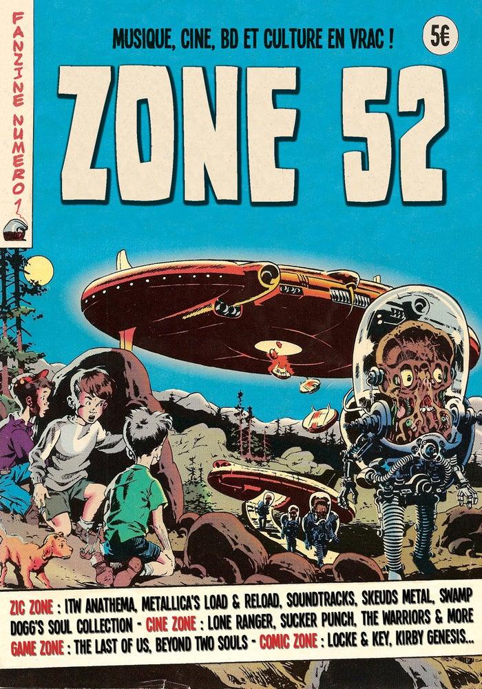 Image of ZONE 52 - Numéro 1