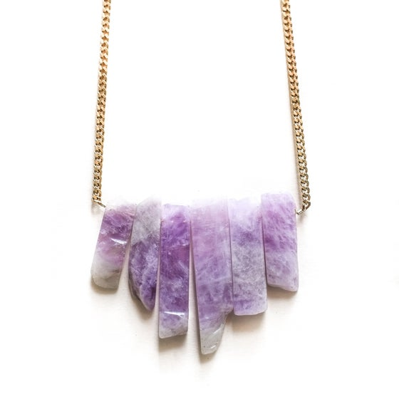 Image of Majestic Amethyst Necklace