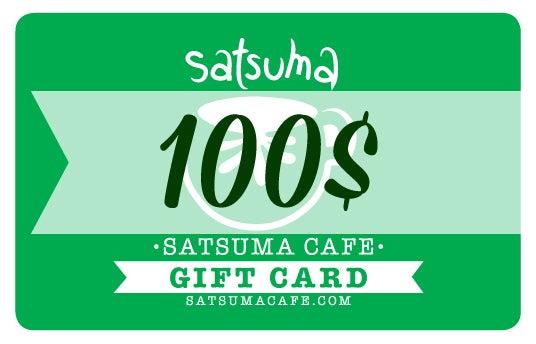 Image of Satsuma Giftcard / 100$