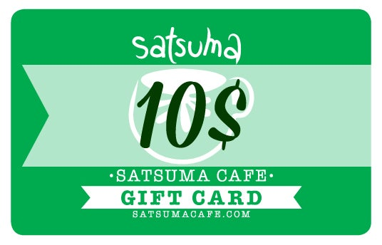 Image of Satsuma Giftcard / 10$