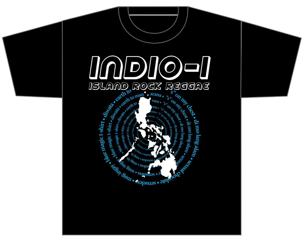 "Image of INDIO I ""ISLAND ROCK REGGAE"" SHIRT"
