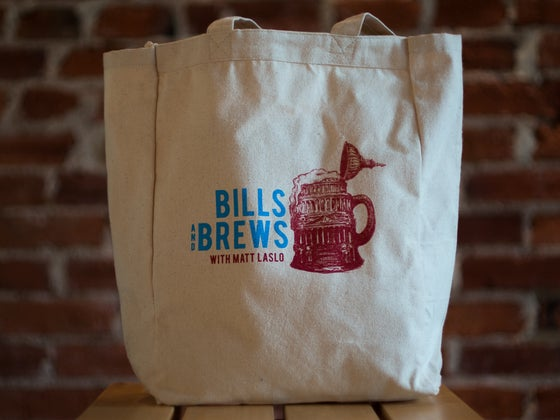 Image of Six-Pack Holding Tote Bag