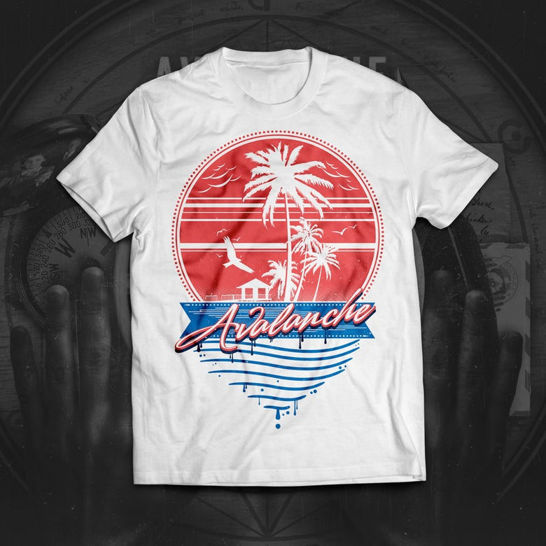 Image of Miami Vice (White T-shirt)