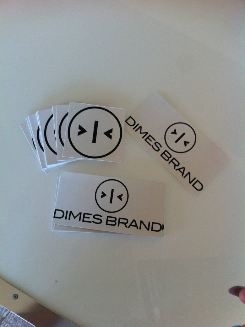 Image of Dimes Brand Stickers