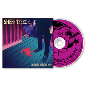 """Image of SHEER TERROR """"Standing Up For Falling Down"""" CD"""