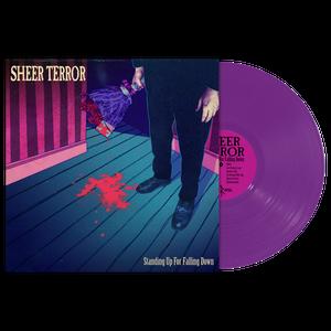 "Image of SHEER TERROR ""Standing Up For Falling Down""Vinyl LP"
