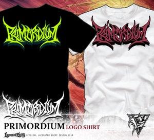 Image of PRIMORDIUM - logo shirts