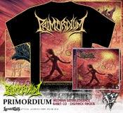 Image of PRIMORDIUM - album shirt + CD / DIGIPACK deal