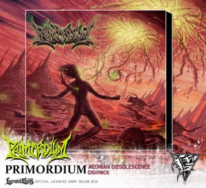 Image of PRIMORDIUM - Aeonian Obsolescence CD / Digipack