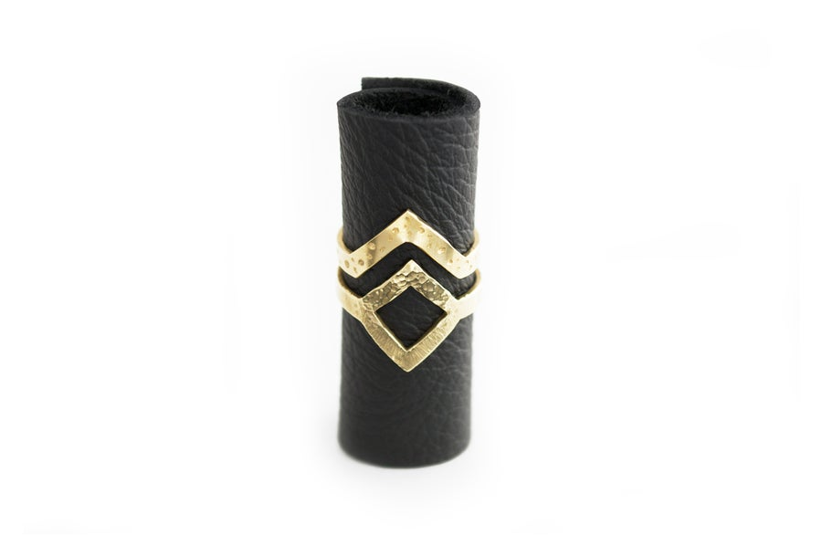 Image of Pyxis rings // Brass | NZ dlls