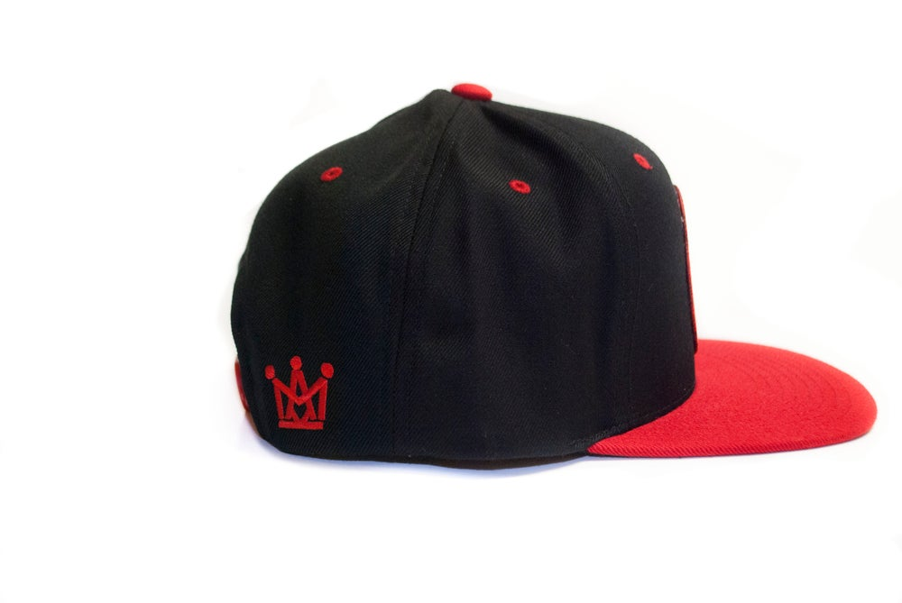 Image of ON SIGHT SNAPBACK / RED&BLACK