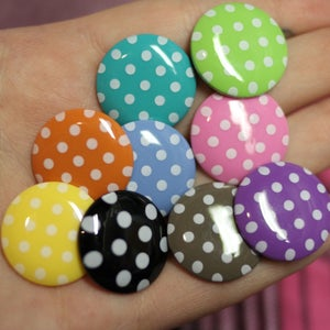 Image of Polka Dot Plugs (Sizes 00g-3/4)