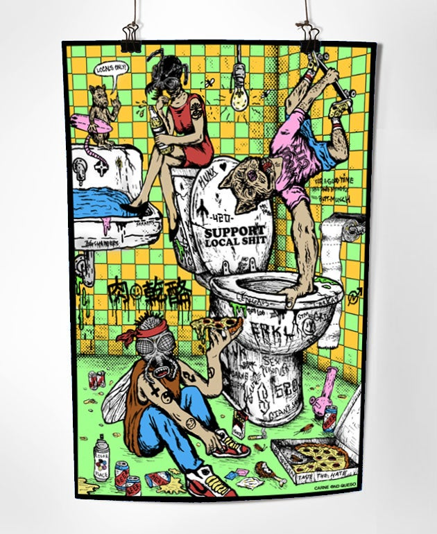 Image of Local Shits Art Print