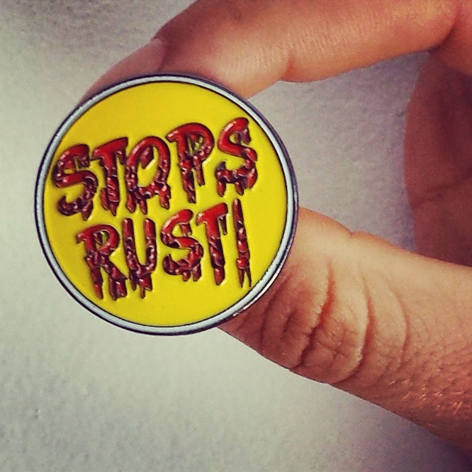 Image of Stops Rust pin