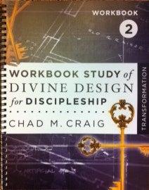 Image of Workbook Study of Divine Design for Discipleship - TRANSFORMATION 2