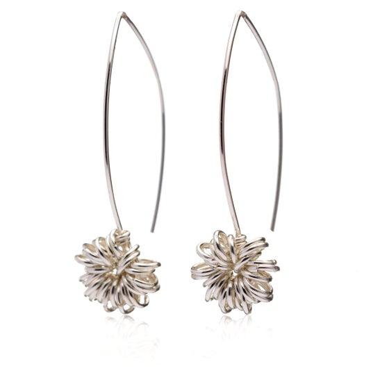 Image of Allium modern drop earrings