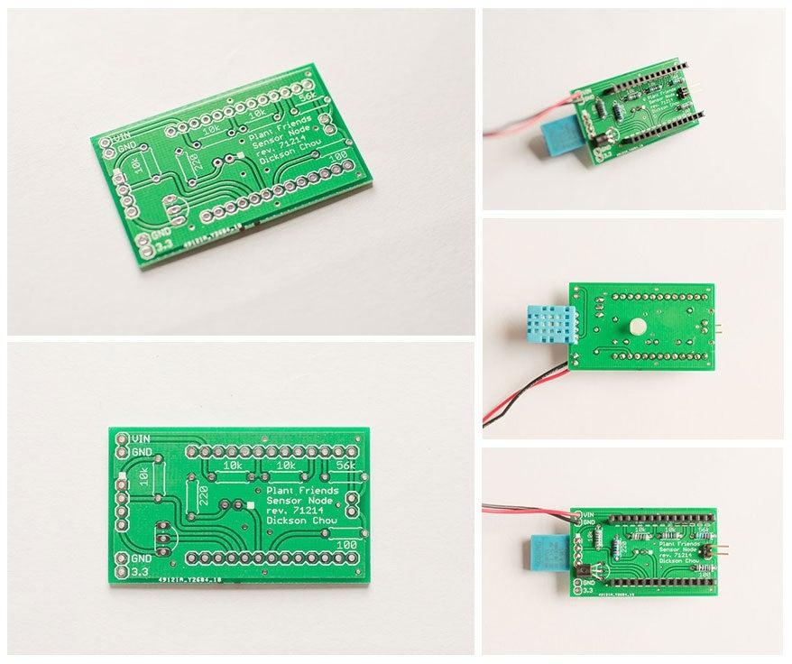 Image of Sensor Node PCB for Plant Friends