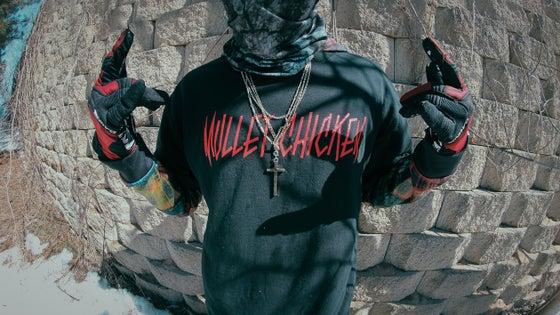 Image of Mullet Chicken Font Shirt