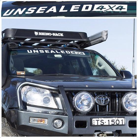 Image of UNSEALED 4X4 WINDSCREEN STICKER- MEDIUM