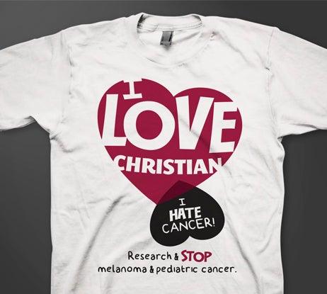 Image of I love Christian