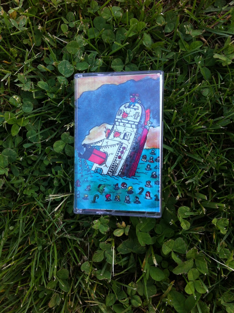 Image of ZOMBIESHARK! A Sinking Ship-Cassette
