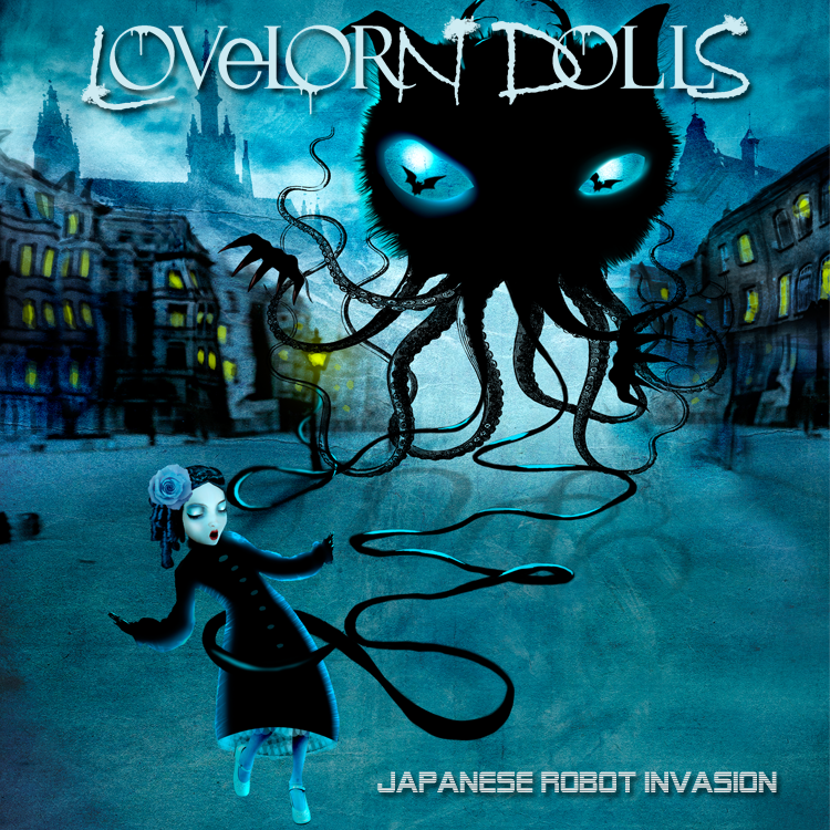 "Image of LOVELORN DOLLS ""Japanese Robot Invasion"" 2 CDs + SIGNED"