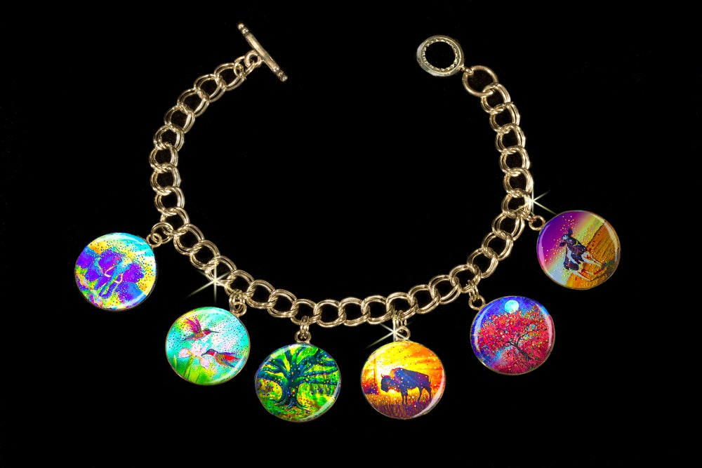 Image of Easy Abundance Energy Charm Bracelet - Attract the wealth and prosperity you seek