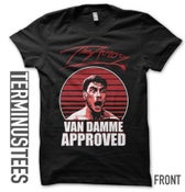 """Image of """"VAN DAMME APPROVED"""" T-Shirt"""