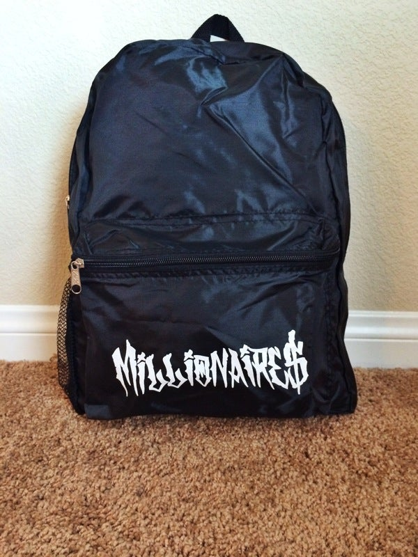 Image of Millionaires NEW ***LIMITED EDITION BACKPACKS***