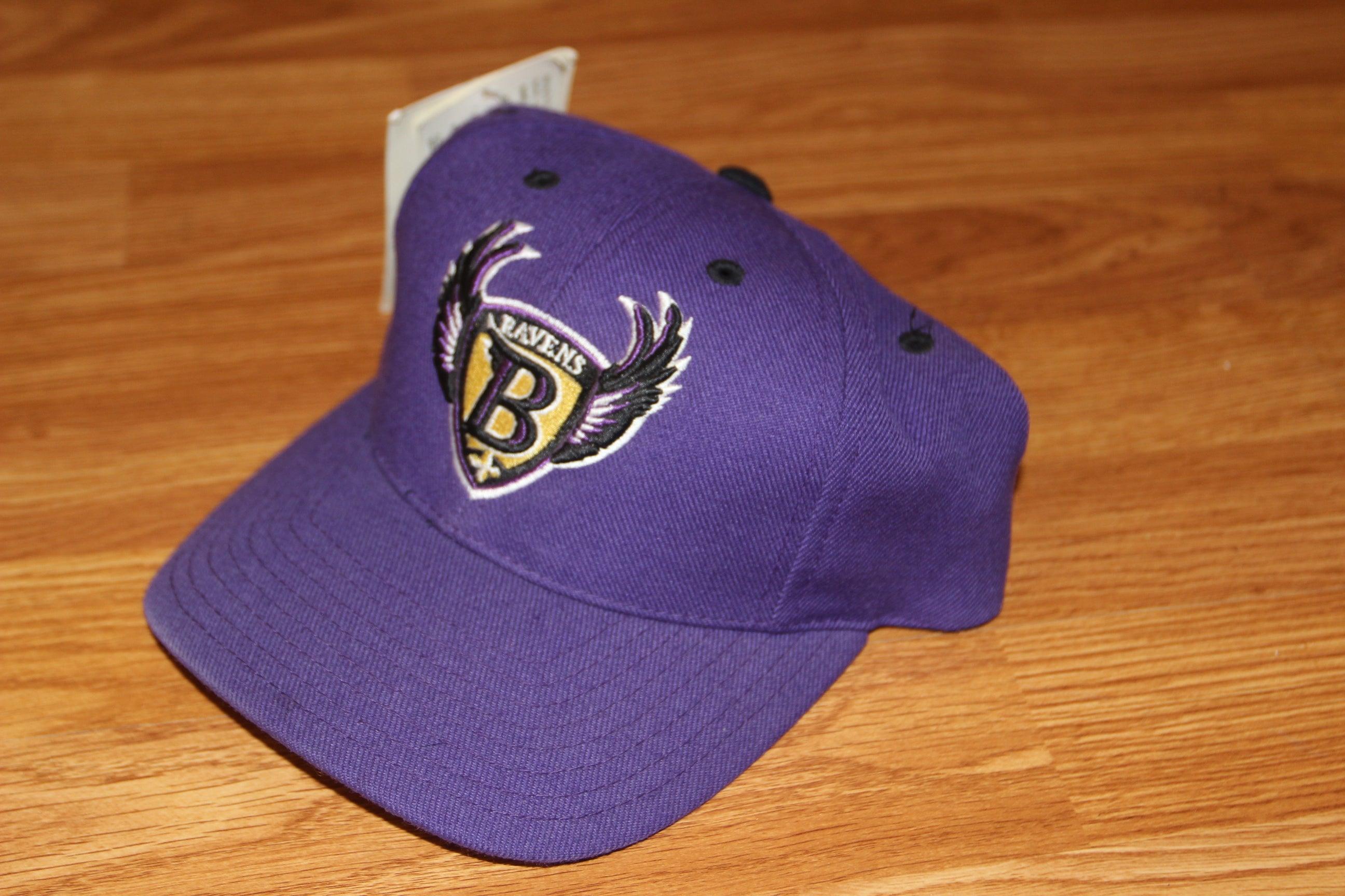 baltimore ravens logo athletic hat thriftdemon