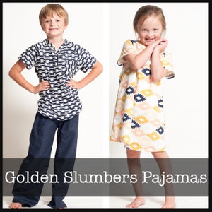 Image of Golden Slumbers Pajamas