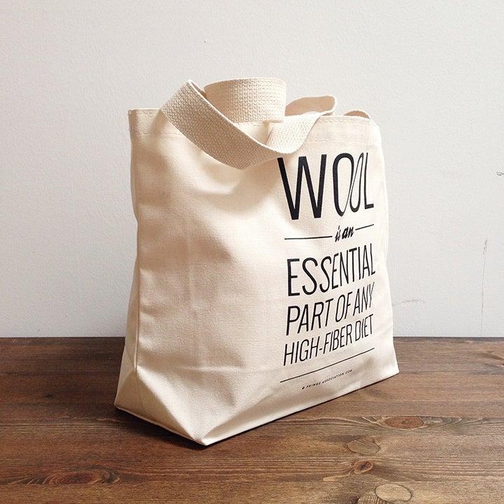 """Image of """"High-Fiber"""" tote bag"""