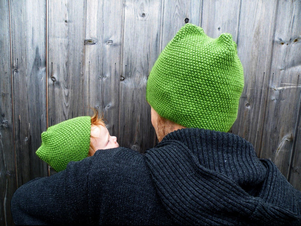 Image of One and a Half Hats knitting pattern (PDF)