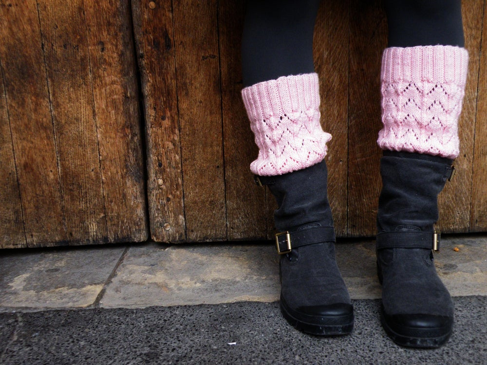 Image of Tilly's Little Leg Warmers knitting pattern (PDF)